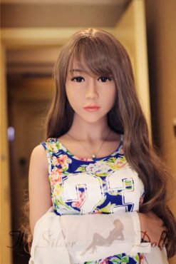 WM Dolls 156cm Lily shows her perfect body - The Silver Doll