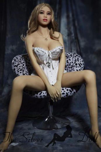 6yedoll 165cm 5 39 4 ft full size lifelike lovedoll the silver doll. Black Bedroom Furniture Sets. Home Design Ideas