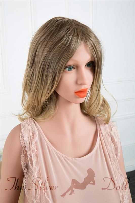 Irontech Doll 169cm Akisha in gray dress - The Silver Doll