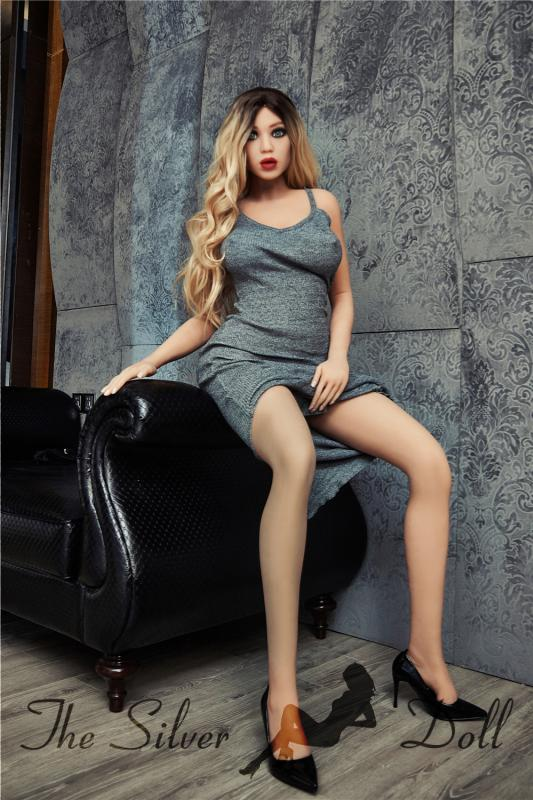 Irontech Doll 168cm Yael in lace top - The Silver Doll