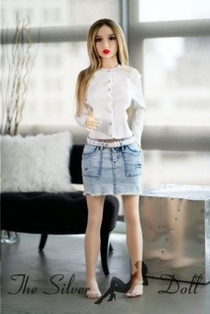 YL Doll 141cm Kylie in red dress - The Silver Doll