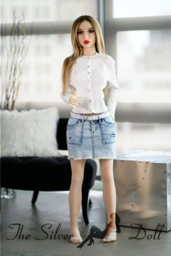 YL Doll 141cm Abbey with pink hair - The Silver Doll